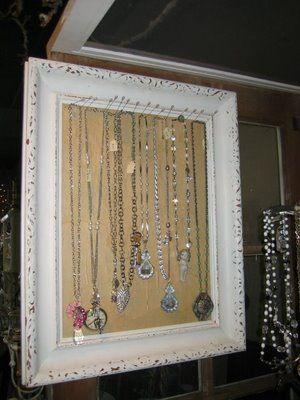 jewelry frame display