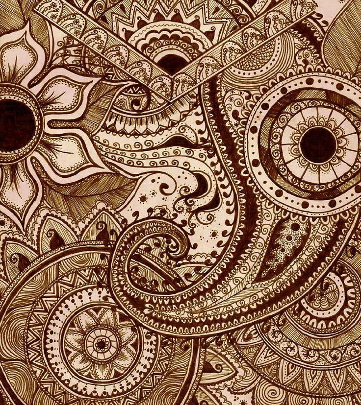 Marker/Pen Art.