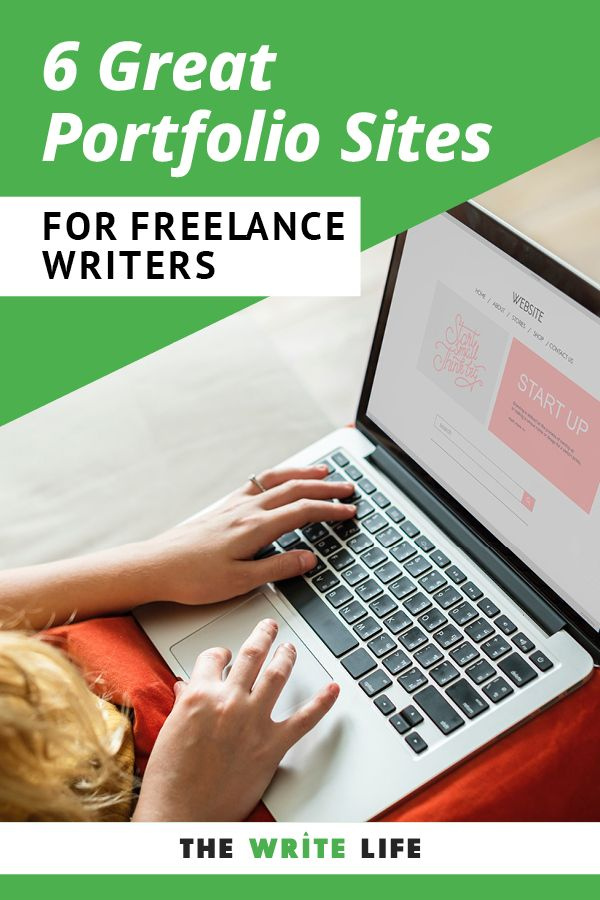10 Great Portfolio Websites For Freelance Writers Most Are Free Freelance Writer Website Freelance Writing Jobs Writing Tips