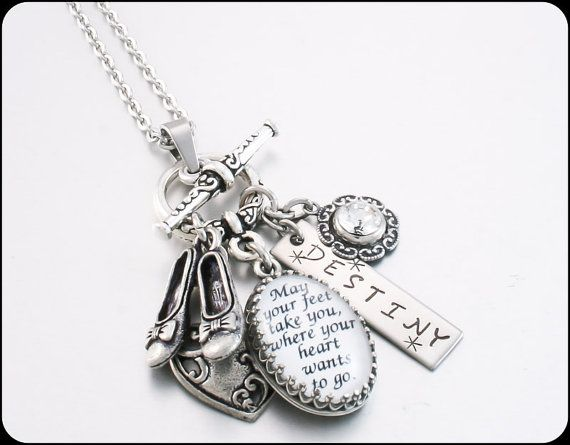 121 best personalized jewelry images on pinterest custom jewelry inspirational quote necklace motivational saying jewelry quote jewelry inspirational necklace stainless steel jewelry aloadofball Gallery