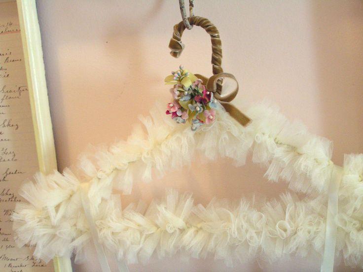 tulle hanger with flowers - Kapı süsLeri