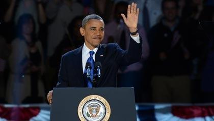 Barack Obama, election 2012