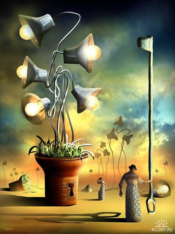 Marcel Caram is an amazing digital artist from Brazil who is fascinated with creating Surreal Art.