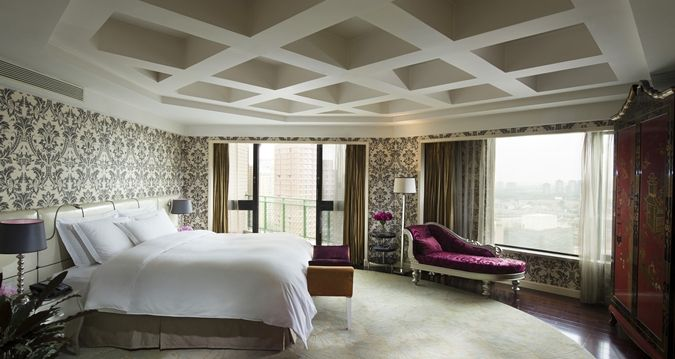 Hilton Beijing hotel - Imperial Suite Bedroom