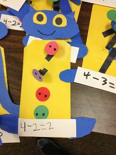 Kroger's Kindergarten: Pete The Cat Subtraction
