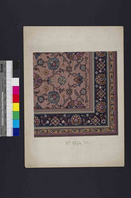 Stoddard-Templeton Design: Assorted Persian Bordered Squares (STOD/DES/111/33F) | Flickr - Photo Sharing!