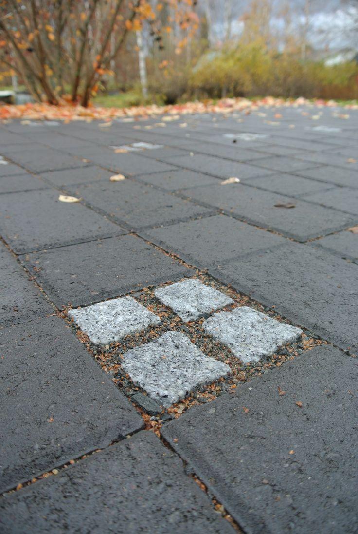 #betonikiveys #graniittinoppa #paving #graniteblocks