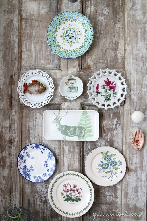 best 25 plate wall decor ideas on pinterest plate wall plates on wall and plate display. Black Bedroom Furniture Sets. Home Design Ideas