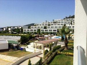 August 2017 - Horizon Sky, Iasos, Bodrum -  Located on a superb complex in the lovely area of Iasos, Bodrum is this fabulous South East facing Duplex Apartment. Iasos is a very beautiful area of Bodrum which is located on the North West Coast overlooking the Aegean Sea and Island beyond.  The complex rests on a hillside surrounded by olive groves and stunning views of the Aegean Sea and provides a perfect setting to enjoy a relaxing break or to live all year round.