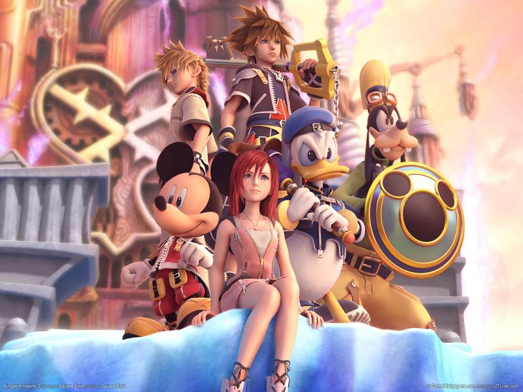 I woke up with the main menu song from this game in my head this morning. I miss Kingdom Hearts :/