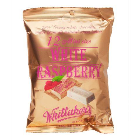 White Raspberry Mini Slabs - Whittaker's - 180g | Shop New Zealand
