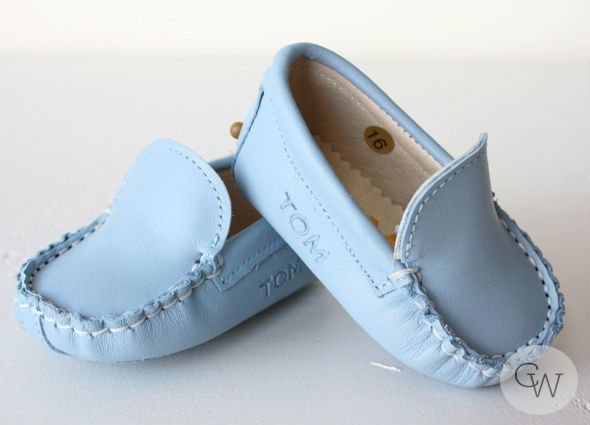 Baby Moccasin made of soft Italian Leather