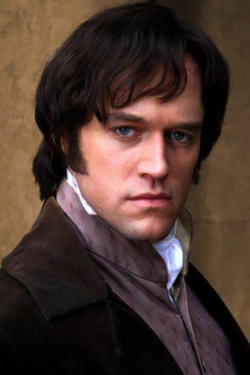 Elliot Cowan.   As Mr. Darcy in Lost in Austen.