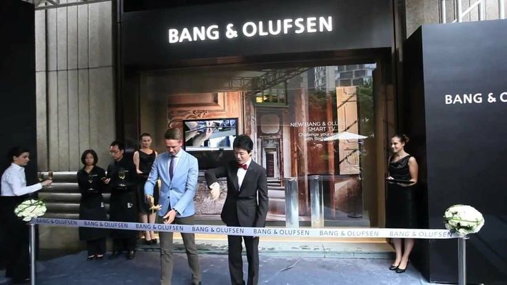 Grand opening of Bang & Olufsen Flagship Store in Shanghai