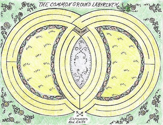 226 best Garden Labyrinth images on Pinterest Labyrinth garden - labyrinth garden design