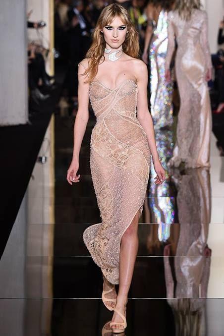 #PARIS Spring 2015 Couture — in Paris, France.  - ATELIER VERSACE