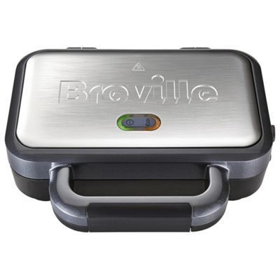 Breville VST041 2 Slice Deep Fill Sandwich Toaster - Silver