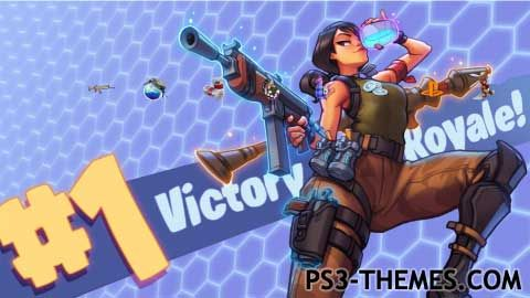 Ps3 Themes Fortnite Battle Royale Theme Fortnite Victorious Video Game Characters