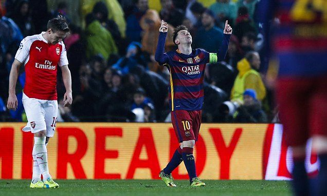 Barcelona 3-1 Arsenal UEFA Champions League LIVE score: All the latest