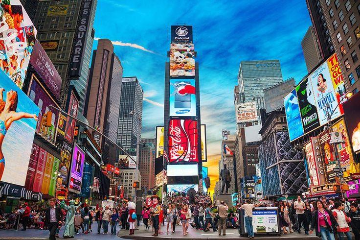 ニューヨークといえばここ!タイムズスクエア