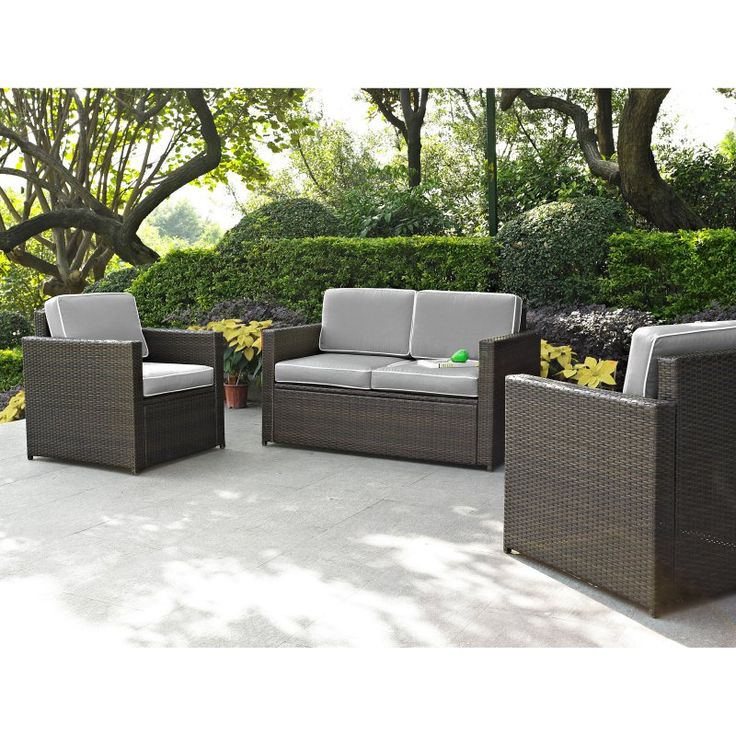 Garden Furniture 3 Piece best 25+ outdoor sofa sets ideas on pinterest | rustic outdoor
