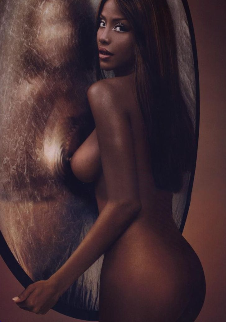 Nude  Cartoons  Beautiful Black Women, Black -6471