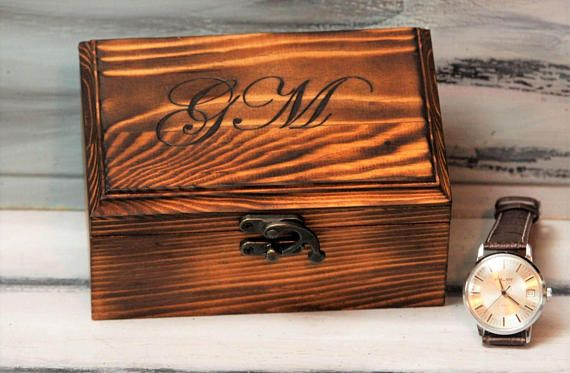 Box Watch storage Personalized Watch Box Men's Watch