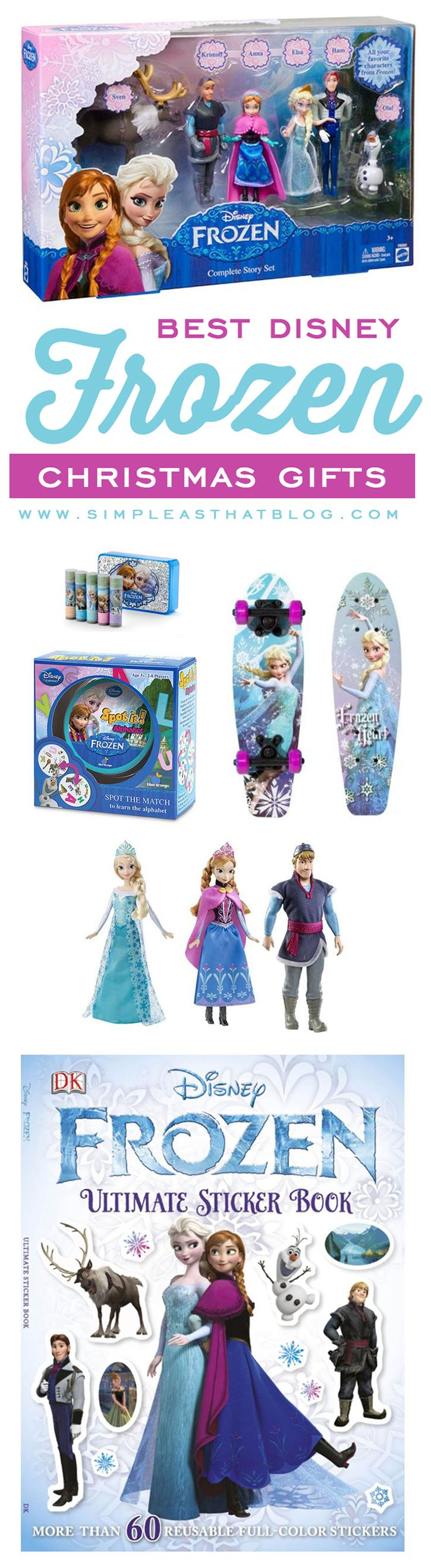 Best Disney Frozen Gift Ideas this Christmas. Tried and true products our kids have loved and items that will be under our tree this year!
