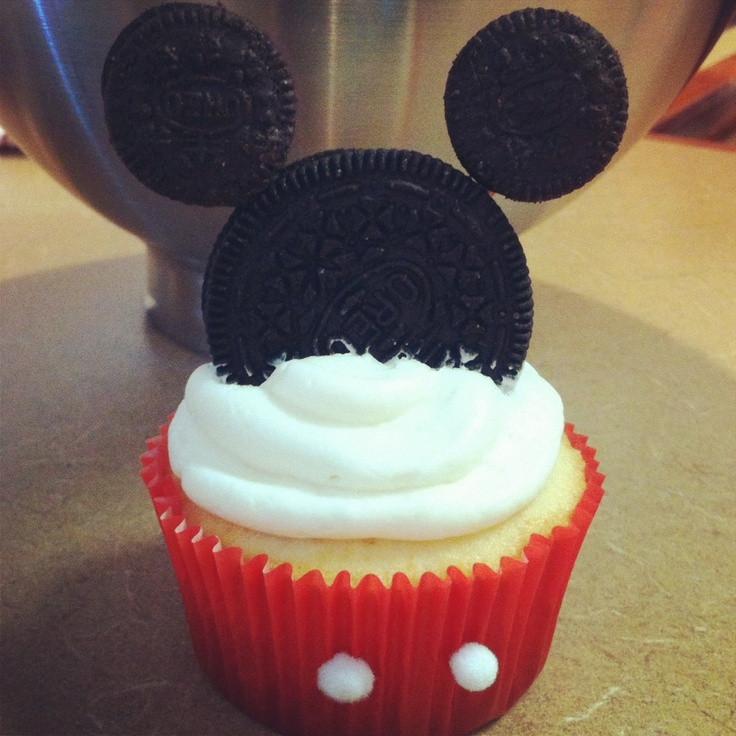 mickey mouse cupcakes ideas