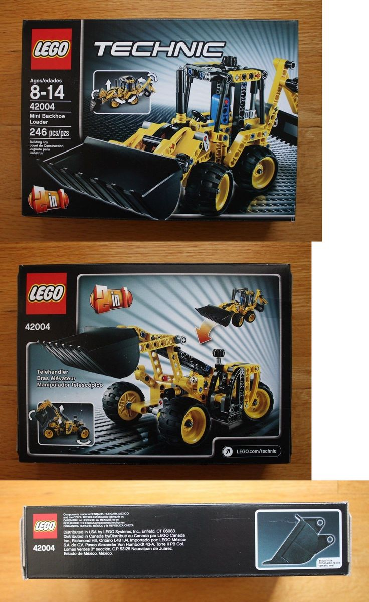 LEGO Complete Sets and Packs 19006: Lego Technic Construction 42004 Mini Backhoe Loader New In Sealed Box -> BUY IT NOW ONLY: $49.99 on eBay!