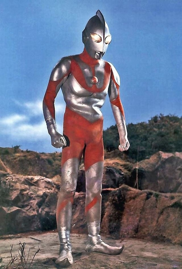 ULTRAMAN- Couldn't wait to get home from school for Ultraman and Creature Feature!! Then Outside to play...