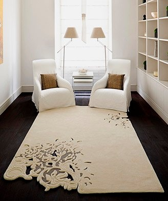 want this rug!Decor, Area Rugs, Wood Floors, Contemporary Rugs, Living Room, Carpets, Cut Out, Design, Floors Rugs