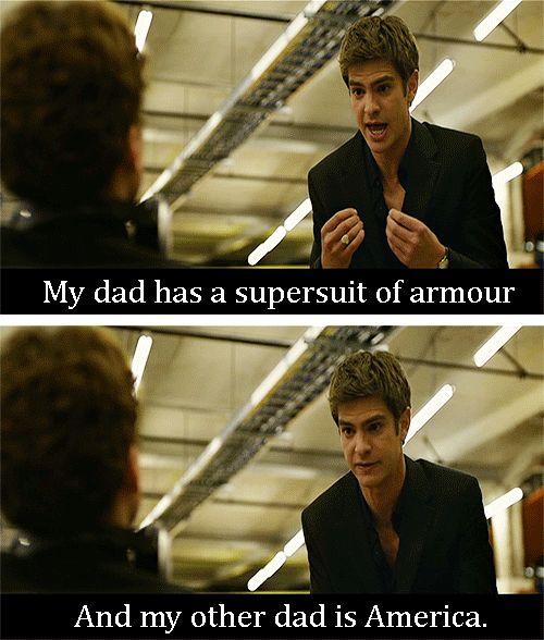 superhusbands   my edits Spiderman iron man Captain America peter parker superhusbands ...