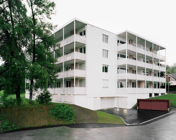 2013 Mehrfamilienhaus, Wald ZH : Valentin Loewensberg