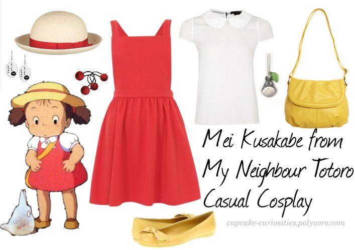 Cosplay Every Day: casual - mei kusakabe - my neighbor ...