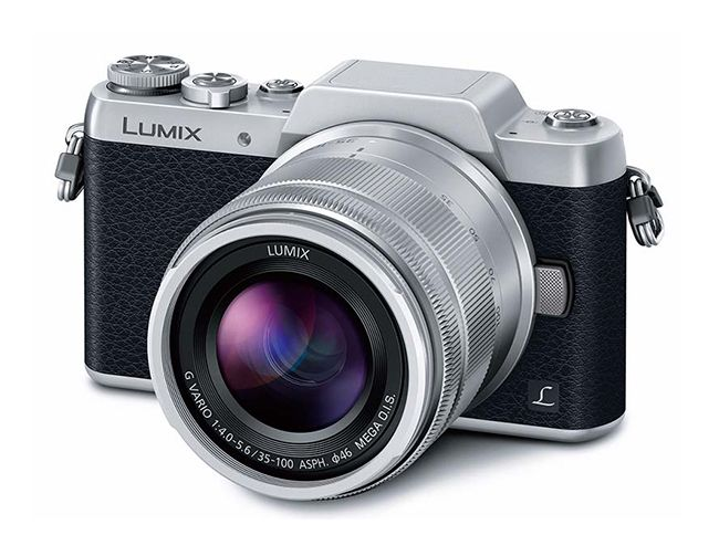 Panasonic Mirrorless Digital Camera DMC-GF7W