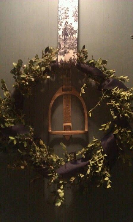 equestrian wreath.