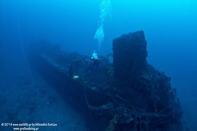 FOUND! Aldebaran: The Italian Navy Torpediniera sunk on 20 October 1941 in Greece