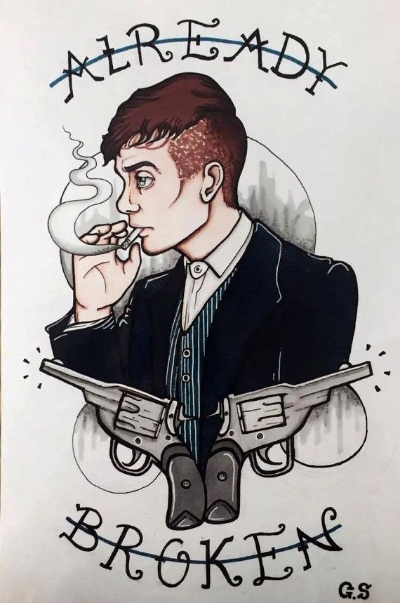 Tommy Shelby 'Already Broken' Peaky Blinders  by GeorgiaVSibz