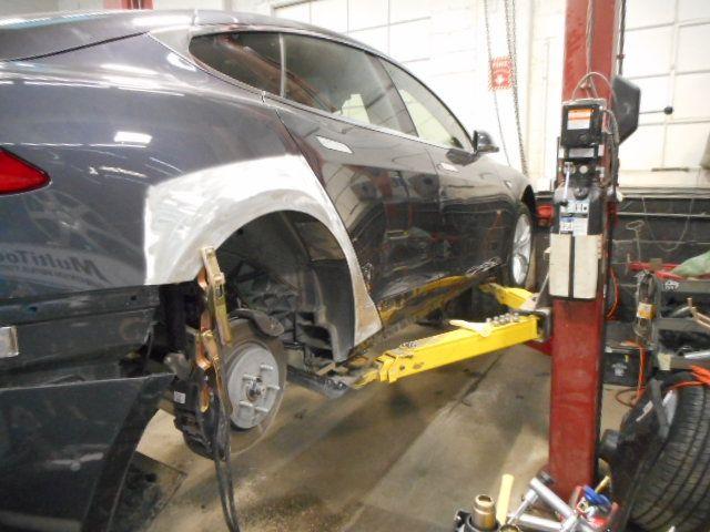 Tesla Auto Body Repair in Boston, MA - http://www.allstoncollisioncenter.com/tesla-auto-body-repair/