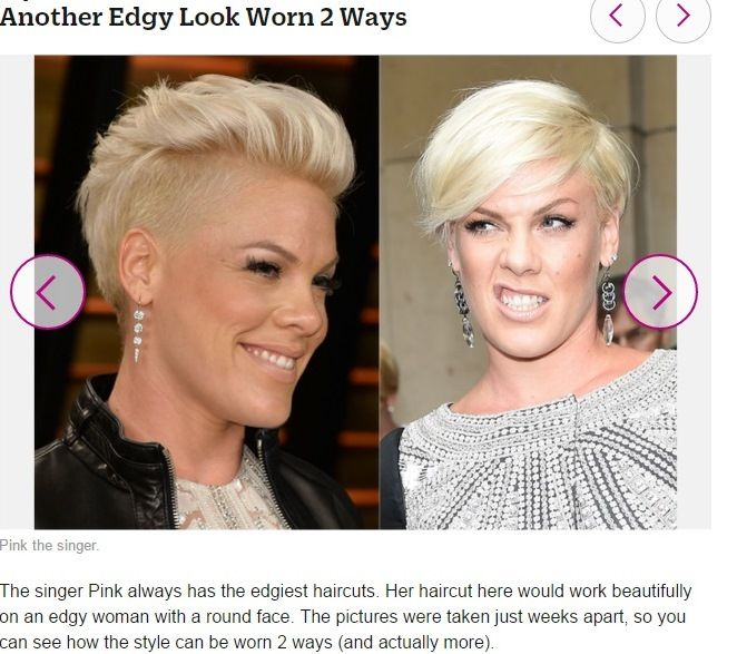 Pin By Tsr Services Trendy On Hairstyles To Try: Pink-2 Hairstyles In 1. Very Edgy :)