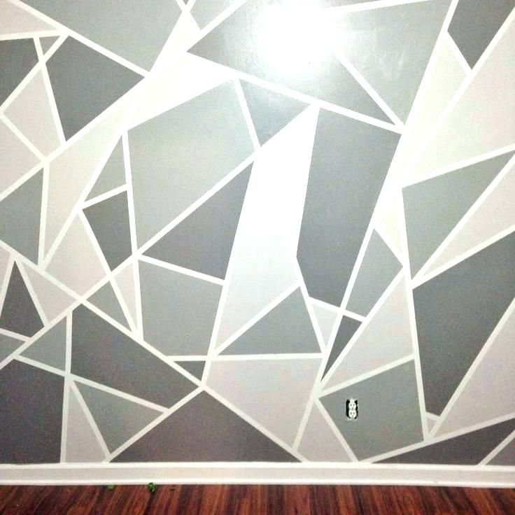 Paint Designs On Walls With Tape