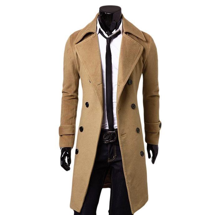 Men's Fashion - Long jacket