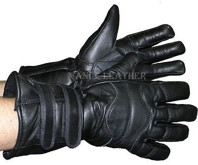 MEN'S MOTORCYCLE GLOVES RIDING INSULATED GAUNTLET GLOVE