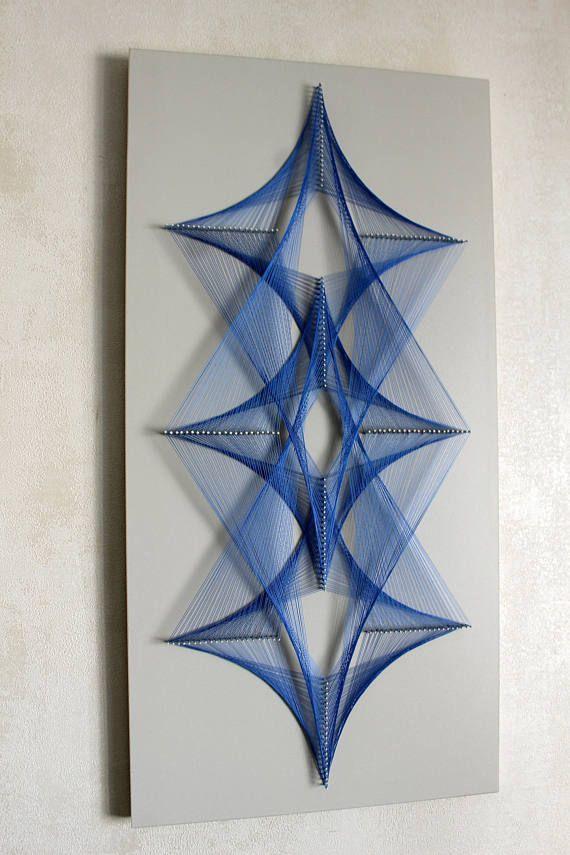 FLOW string art, zen, mandala, wall hanging, spiritual, wall decor, interior, 3D art, new generation, sacred geometry