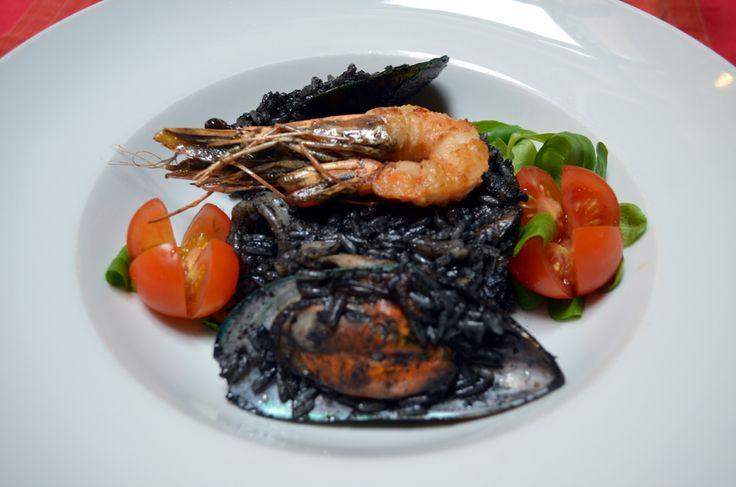 Černé risotto /  Black risotto