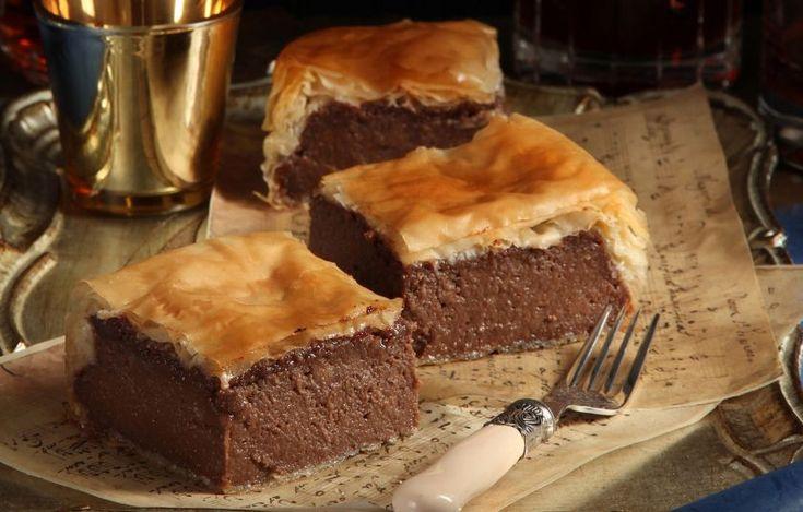 Γαλακτομπούρεκο σοκολάτα - Γλυκά - Όλο σοκολάτα   γαστρονόμος