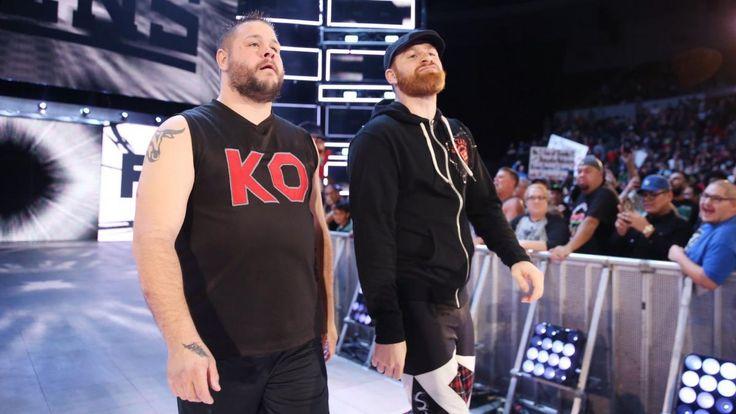 Randy Orton RKOt Kevin Owens