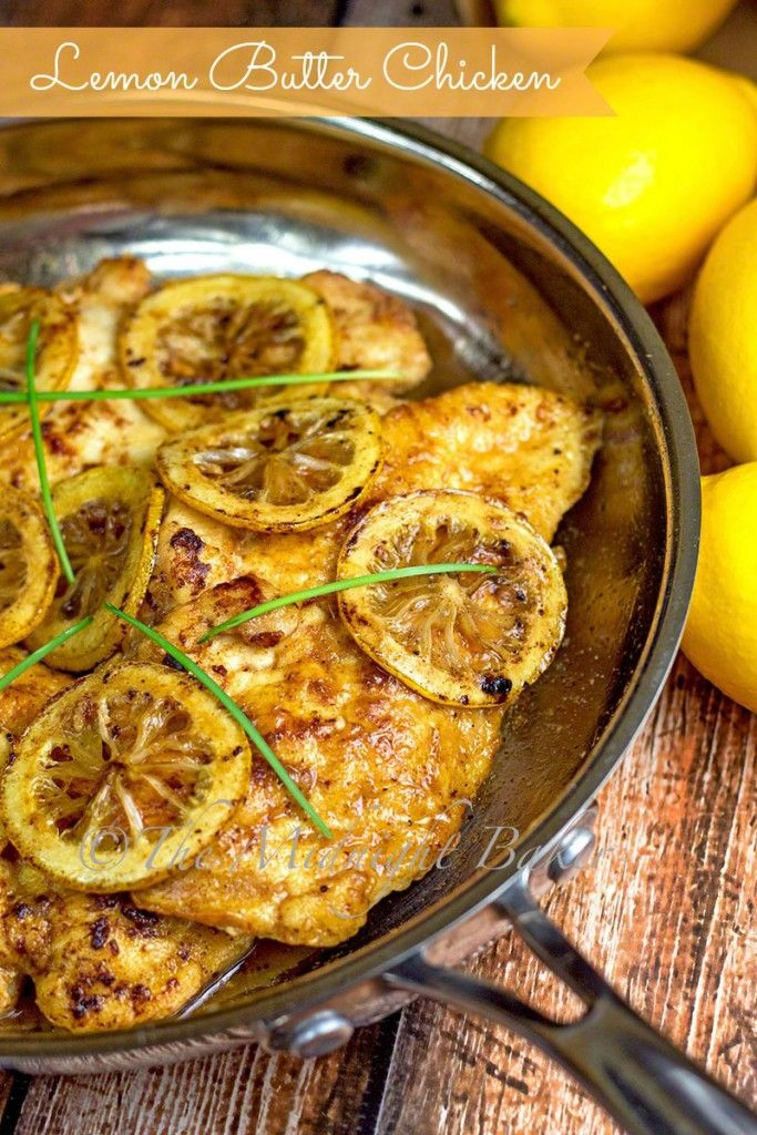 Lemon Butter Chicken | bakeatmidnite.com | #chicken #lemon #30MinuteMeals