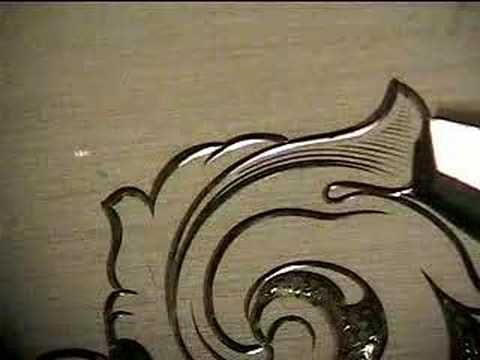 ▶ Hand Engraving, Shading 1-1 - YouTube